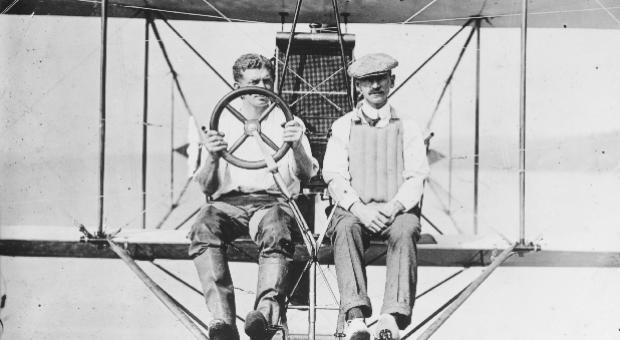 Glenn Curtiss & Theodor Ellyson